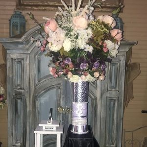 Beautiful flower centerpiece handmade